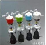 塑料盖玻璃可清洗冰壶.